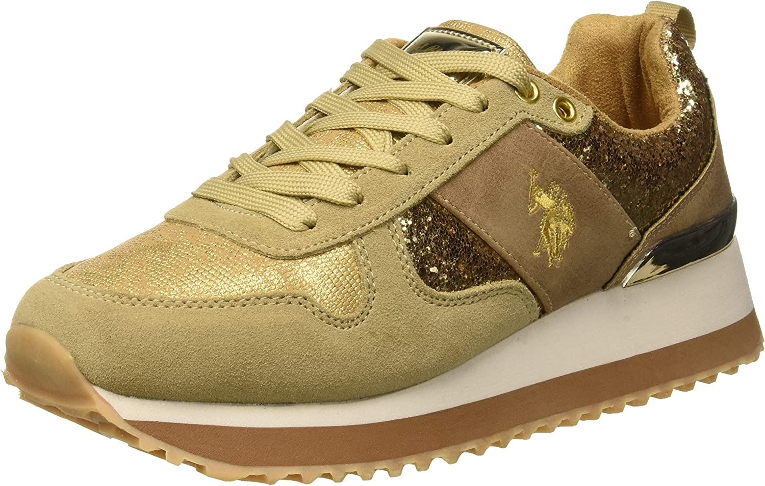 U.S.POLO ASSN. Damen Tabitha1 Crystal Turnschuhe