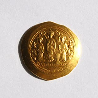 IT 11th Century Byzantine Emperor Romanus IV (1068-1071 AD) Gold About Uncirculated Coin Choice About Uncirculated