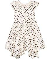 Smocked Neck Dress (Toddler/Little Kids/Big Kids)