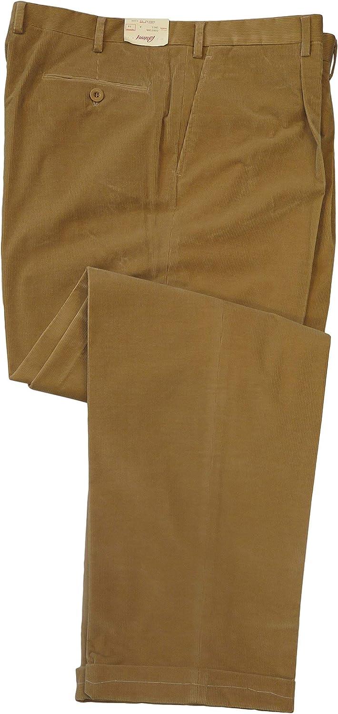 Brioni Men's Cortina Beige Corduroy Casual Pants 42