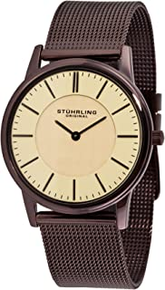 Stuhrling Original Men's 238.3261K77 Classic Newberry Swiss Quartz Stainless Steel Mesh Bracelet Watch