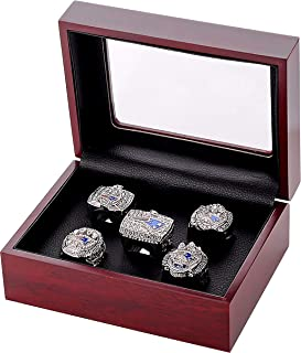GF-sports store Replica Championship Ring for New England Patriots Gift Fashion Ring (New England Patriots Set)