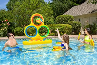 Poolmaster Inflatable Floating Jumbo Target Game for Swimming Pools, Lawns or Decks, Multicolor