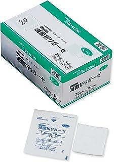ナビス ベスケア 滅菌折りガーゼ S12-7510 75×100mm  (1枚/袋×100袋入 /8-2445-03