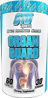 Liver Cleanse Pills. Maximum Strength Lower Cholesterol Heart Health Formula with Citrus Bergamot for men and women. Organ Guard 60 Capsules
