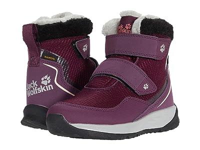 Jack Wolfskin Kids Polar Wolf Texapore Mid VC (Toddler/Little Kid/Big Kid) (Purple/Coral) Girls Shoes