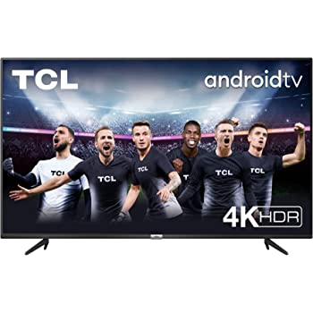 TV TCL 50P616 50 pollici, 4K HDR, Ultra HD, Smart TV con sistema Android 9.0, Design senza bordi (Micro dimming PRO, Smart HDR, HDR 10, Dolby Audio, Compatibile con Google Assistant & Alexa)