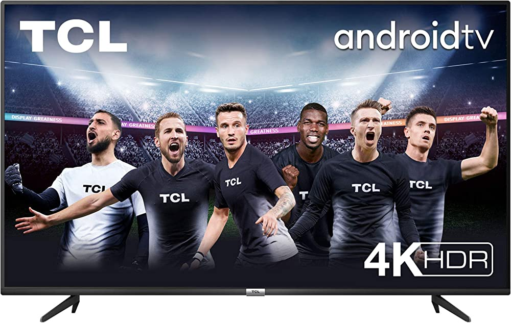 Tcl , 4k hdr, ultra hd, smart tv con sistema android 9.0,55 pollici dolby audio, compatibile con google assist 55P616