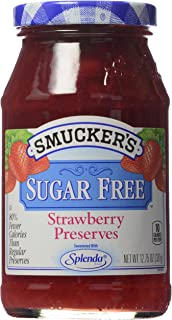 Smucker's Preserves, Sugar Free Strawberry, 12.75 oz