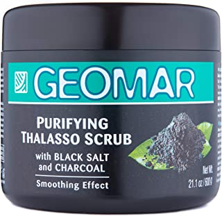Activated Charcoal Scrub - 21oz Natural Charcoal Body Scrub - Body Exfoliating Scrub, Dead Skin Remover For Body, Detox Skin