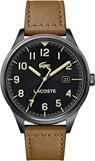 Lacoste Continental, Analog Men's Watch, Brown - 2011021