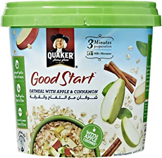 Quaker Good Start Oatmeal with Apple & Cinnamon - 43 gm