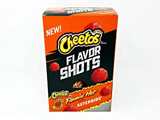 Cheetos Flavor Shots Flamin' Hot Asteroids Box of 6
