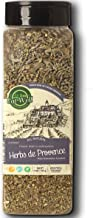 Herbs De Provence Seasoning   9 Ounce - 255 Gr Bulk Spice Quart Jar with Shaker Top   Seasoning - Spice Blend with Lavender and Crushed Sage Leaves  100% Natural Blend, Gluten Free & Non-GMO