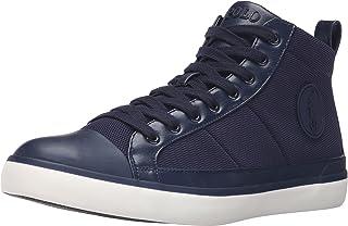 POLO RALPH LAUREN Men's Clarke Mesh Fashion Sneaker, Navy, 9.5 D US