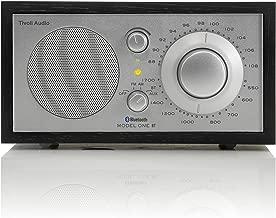 Tivoli Audio M1BTSLB Model One BT Bluetooth AM/FM Radio (Black Ash/Silver)