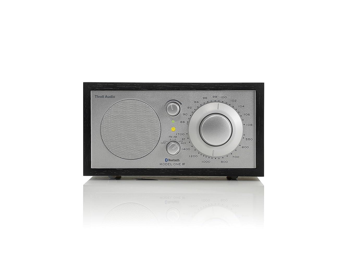 女優ブリリアント取り替えるTivoli Audio M1BTSLB Model One BT Bluetooth AM/FM Radio (Black Ash/Silver) 並行輸入