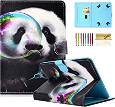 Universal Case for 6.5-7.5 Inch Tablet, Casii Slim Protective Kickstand Flip Wallet Cover with Card Slots for All 6.5