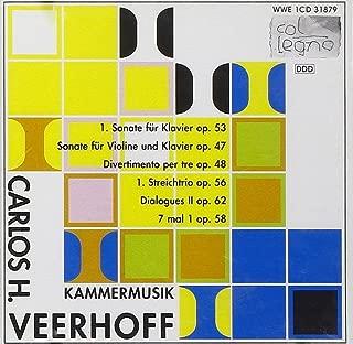 Veerhoff Carlos H. 1926-2011- 'Chamber Music': Sonata For Violin And Piano Op.47 W.Gottfri