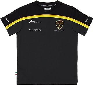 355a6f067b96a Automobili Lamborghini Garçon T-Shirt pour Enfant Lamborghini Squadra Corse  Gold Edition