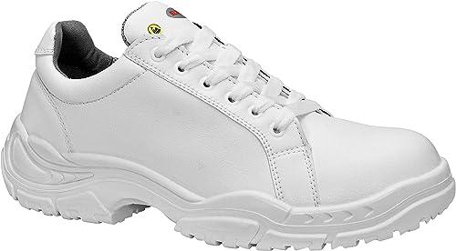 Elten 72016-47 blanc Loop Faible Chaussures de sécurité ESD S2 Taille 47