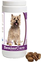 Healthy Breeds Senior Care Soft Chews - Vet Formulated to Support Overall Vitality - Over 200 Breeds - Tasty Chicken Flavor - Grain Free - 100 Chews