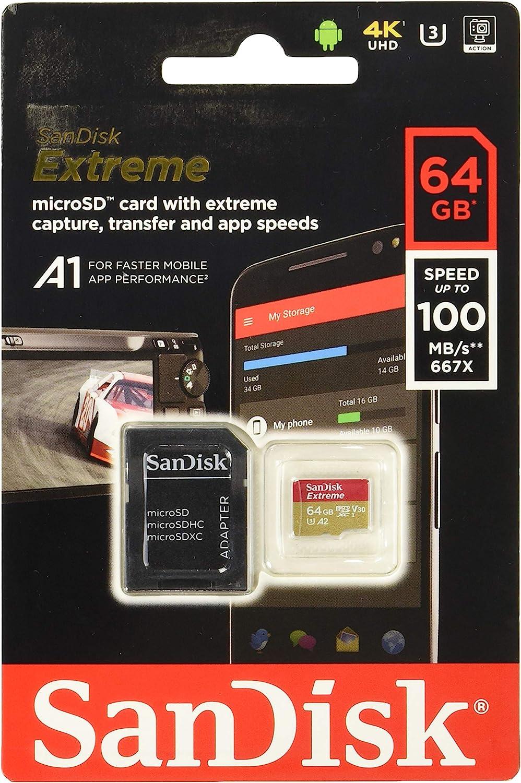 Sandisk Extreme 64 Gb Microsdxc Speicherkarte Computer Zubehör