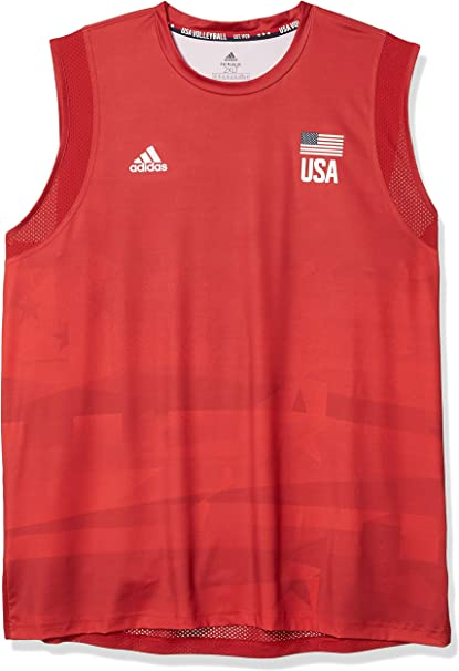 adidas USA Volleyball Jersey Primeblue Camisa Hombre