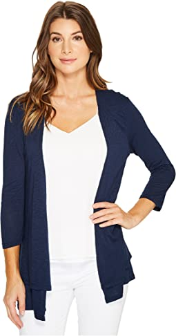 Mod-o-doc - Featherweight Slub Jersey Double Layer Cardigan