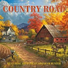 Country Road - Abraham Hunter 2020 Wall Calendar