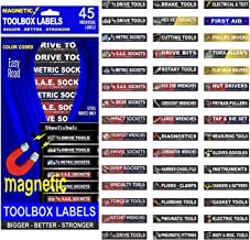 magnetic tool chest drawer labels