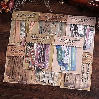 Autocollants de Scrapbooking, Lychii 480 pièces autocollants en papier de décoration , autocollants adhésifs de conception...