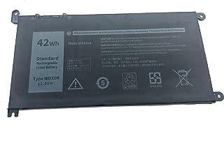 Yafda WDX0R WDXOR 11.4V42Wh New Laptop Battery for Dell Inspiron 15 5565 5567 5568 5578 7560 7569 7570 7579 Inspiron 17 5765 5767 Inspiron 13 5368 5378 7368 7378 Series