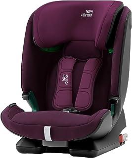 Britax Römer Kindersitz 15 Monate - 12 Jahre | 76 - 150 cm | ADVANSAFIX M i-SIZE Autositz Isofix | Burgundy Red