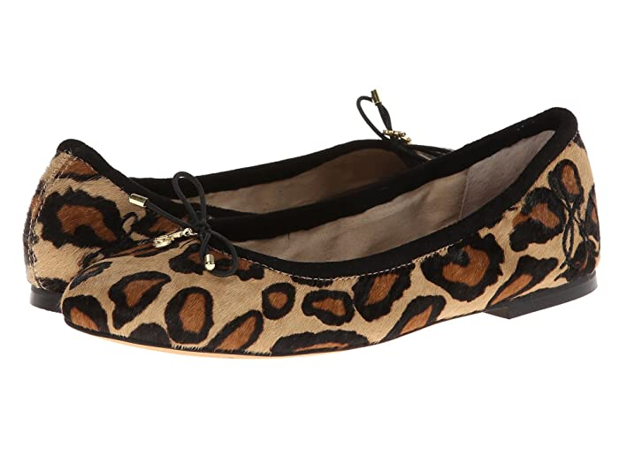 Sam Edelman Felicia (New Nude Leopard) Women's Flat Shoes