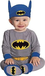Rubie's unisex ONESIE COSTUME, BABY DC Comics Batman Costume, Multicoloured (Multicoloured), 6-12 Months US