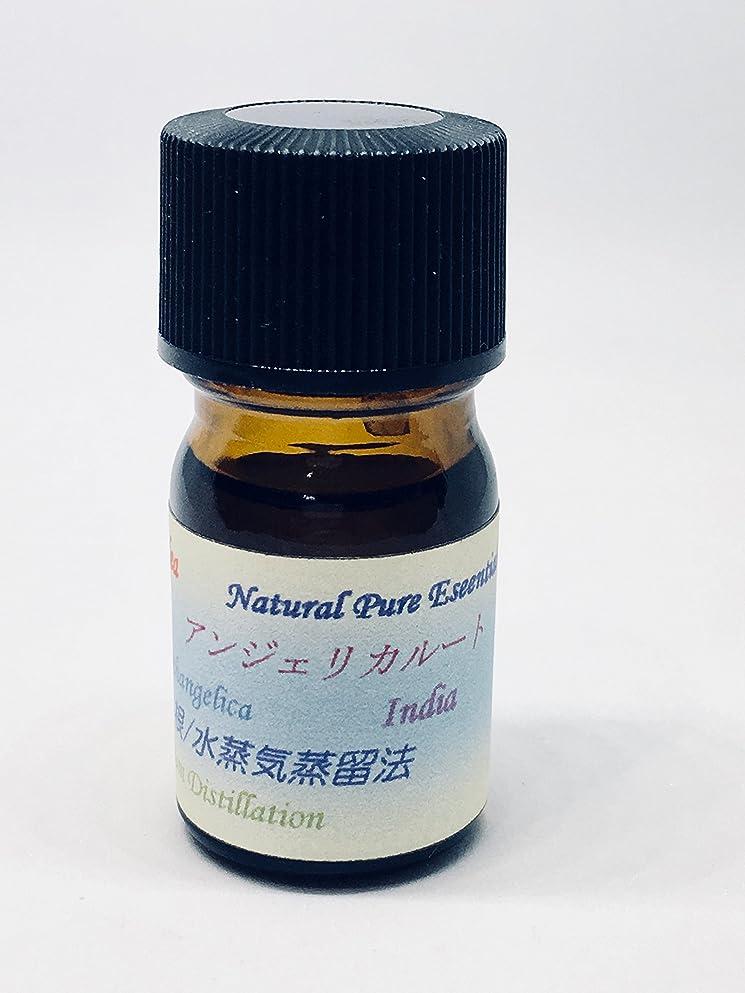 特異なドリル多年生アンジェリカルート精油 ピュアエッセンシャルオイル (5ml)