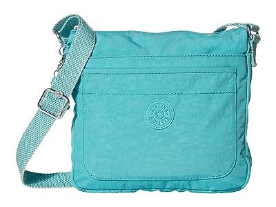 Kipling Sebastian Crossbody Bag (Seaglass Blue) Handbags