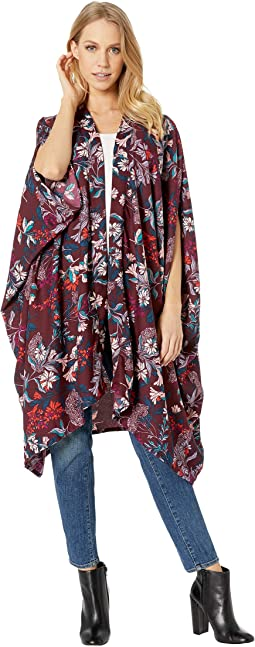 Folkloric Floral Kimono