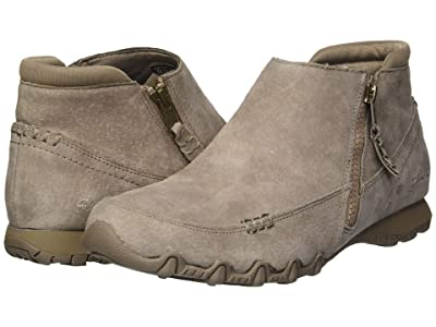 SKECHERS Bikers Zippiest (Mushroom) Women