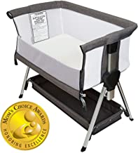 Bedside Bassinet for Baby | Bedside Sleeper for Baby Allows Safe Cosleeping at Arms Reach | Portable Baby Bed | Includes H...