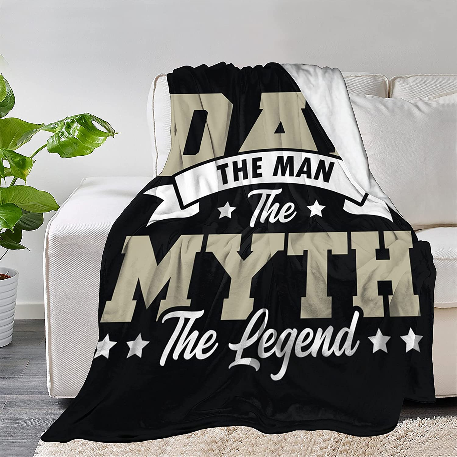 FUNDESIGN to My Dad Father's Day Ultra Throw Blanket Rapid Very popular rise So Flannel