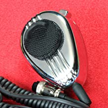 CB Microphone Wired with 4 Pin Plug - Noise Canceling - Workman SS56 Chrome