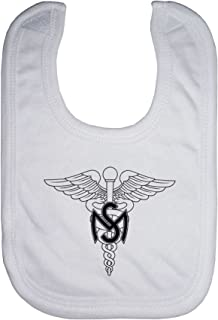 ExpressItBest Microfiber Baby Bib - US Army Medical Service Corps, branch insignia