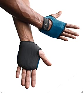YogaPaws Elite Padded Yoga Gloves for Women and Men,  Non Slip Cushion Grip,  for Hot Yoga,  Vinyasa,  Pilates,  Barre,  SUP,  Travel,  and Sweaty Hands
