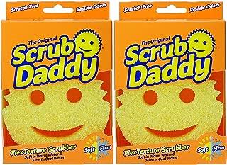 Pack of 2 Scrub Daddy The Scratch Free Sponge As Seen on Shark Tank