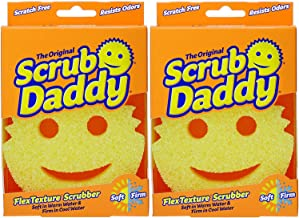 Pack of 2 Scrub Daddy The Scratch Free Sponge As Seen on Shark Tank