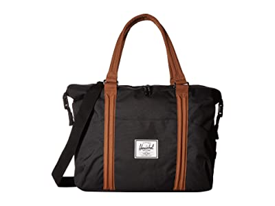 Herschel Supply Co. Kids Strand Sprout (Black/Saddle Brown) Duffel Bags