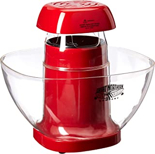 6275 Great Northern Popcorn Company Popkin Hot Air Popper Healthy And Fun Treat Red