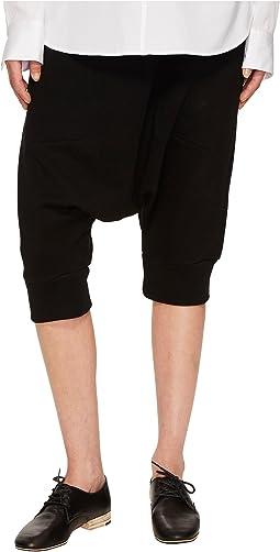 Y's by Yohji Yamamoto - Short Length Sarouel Pnt Drop Crotch Shorts